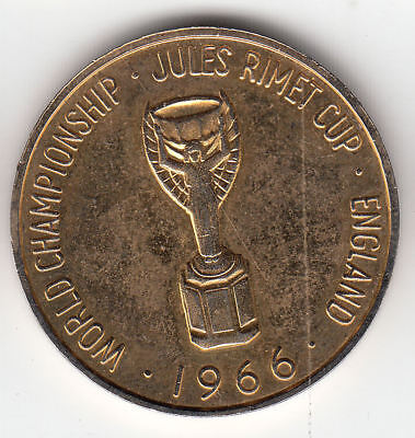 Gb World Cup Willie Token 1966         226A     By Coinmountain