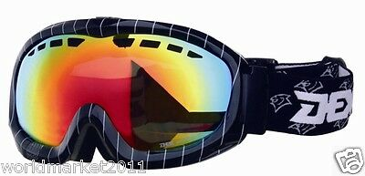 Double Layer Anti-Fog Vacuum Coating Polarized Lenses Professional Ski Goggles