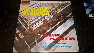 The Beatles Please Please Me Original 180 Gram Lp With Booklet Brand New Sealed