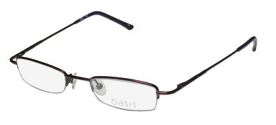 New Oasis Orchid Half-Rimless Classy Fashionable Eyeglass Frame/eyewear/glasses