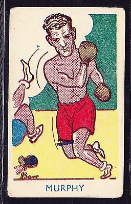 A & J Donaldson SPORTS FAVOURITES 1953 #257 Boxing Card Bos Murphy *VG Cond*