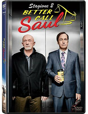 Dvd Better Call Saul: Stagione 2 (3 DVD) ......NUOVO