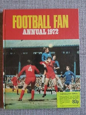 Football Fan Annual 1972 - Published By Harry Darton - Very Good Condition