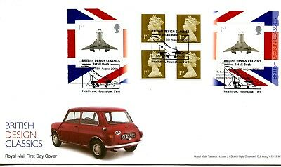 2009 Designs/concorde Great Britain Self Adhesive Retail Booklet Royal Mail Fdc