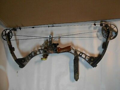 "Mathews Solocam Switchback Compound Bow Package! RH 30""/60-70lb sight arrow rest"