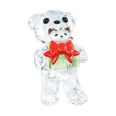 Swarovski Crystal Christmas Figurine KRIS BEAR Christmas 2014 #5058935 New