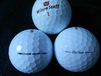 "20 WILSON STAFF - ""DX2 SOFT"" -  Golf Balls - ""PEARL/A""  Grades."