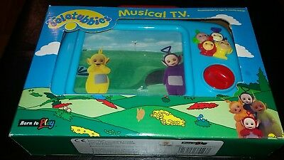 The Teletubbies Moving Musical Vintage 1997 Ragdoll Television Tv Moving Screen