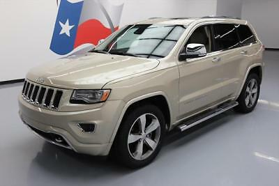 2014 Jeep Grand Cherokee Overland Sport Utility 4-Door 2014 JEEP GRAND CHEROKEE OVERLAND HEMI PANO NAV 37K MI #427694 Texas Direct Auto