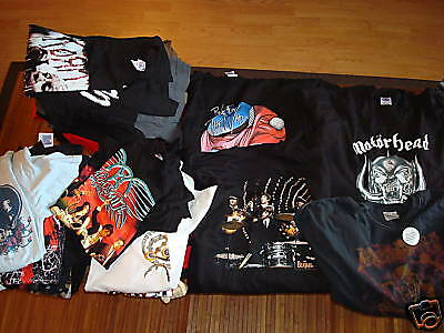 WHOLESALE LOT 20 Retro  Music Concert TOUR  SHIRTS ROCK