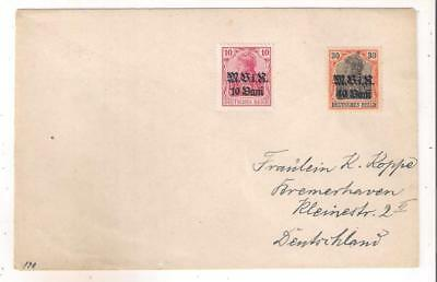 25188 Germany WWI Occupation of Romania cover