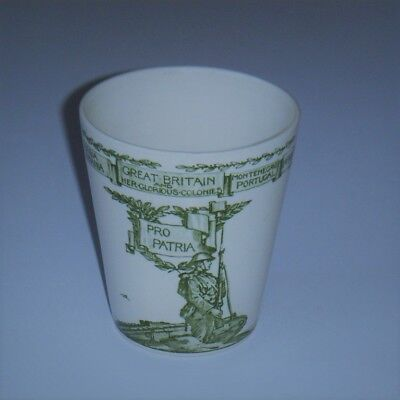 "ROYAL DOULTON ""VICTORY and PEACE 1919"" BEAKER ~ EXCELLENT"