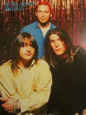 The Goo Goo Dolls, Full Page Vintage Pinup