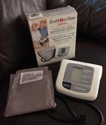 Digital Blood Pressure Monitor 7654 - Health At Home By Sunbeam