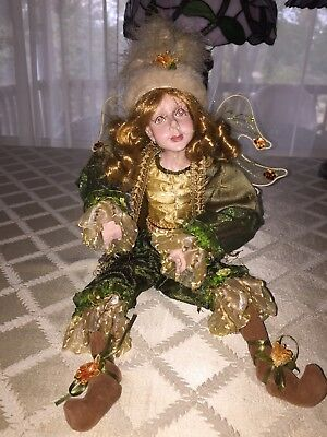 Large collectible fairy doll