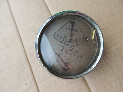 Jaguar SS Oil Ammeter Lucas Gauge 1 1/2 Litre Vintage pre post war 2 1/2