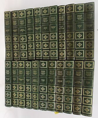 22 x CHARLES DICKENS COMPLETE WORKS CENTENNIAL EDITION Hardback Books - M11