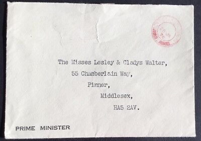 Lesley Gladys Walter Pinner Middlesex Prime Minister 10 Downing Street Whitehall