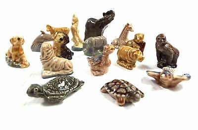 Job Lot Of 16 x Various WADE WHIMSIES Collectable Ornaments - D03