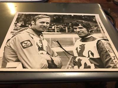 Wembley Lions--Jessup+Nordin- 1970's---8X6---Speedway-Portrait Photo-Original