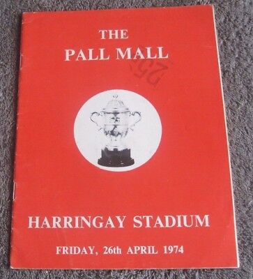 Harringay  The  Pall Mall Final  1974