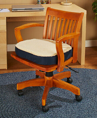 Oversized Gel Chair Cushion Office Vehicle Seat Traveling Car Polyester Foam New