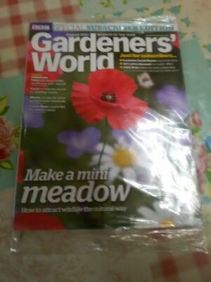 BBC Gardener's World New Sealed Special Subscribers Edition August 2012