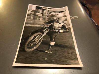 Edinburgh Monarchs-Doug Templeton-5X3--1960's---Speedway-Action Photo-Original