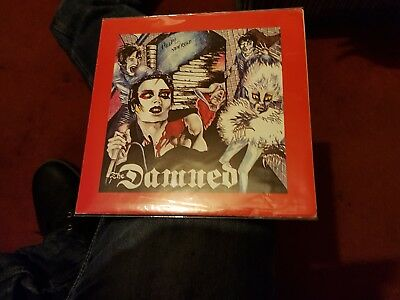 The Damned New Rose Rare French Poster Sleeve
