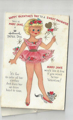Vintage Paper Doll Mary Jane Hallmark