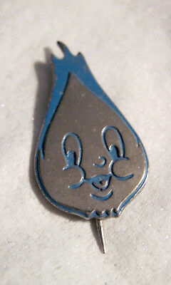 Vintage Blue Flame Face Pin - Company UNKNOWN