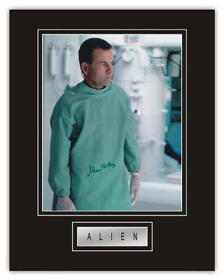 Sale! Alien Ian Holm (Ash) Hand Signed 14x11 Display
