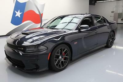 2016 Dodge Charger R/T Scat Pack Sedan 4-Door 2016 DODGE CHARGER R/T SCAT PACK 392 HEMI REAR CAM 15K #253694 Texas Direct Auto