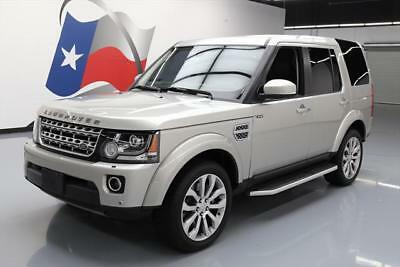 2016 Land Rover LR4  2016 LAND ROVER LR4 HSE LUX AWD 7-PASS SUNROOF NAV 18K #800099 Texas Direct Auto