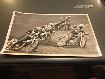 Great Britain V U.s.s.r---1960's-5X3--Speedway Action Photo-Original