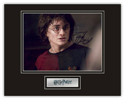 Sale! Harry Potter Daniel Radcliffe (Harry Potter) Signed 14x11 Display RARE!