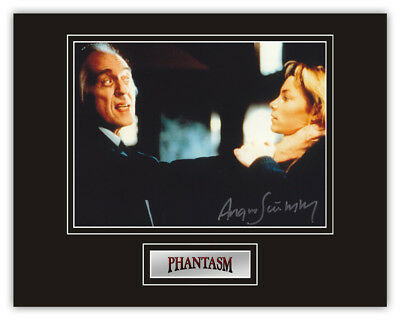 Sale! Phantasm Angus Scrimm (The Tall Man) Signed 14x11 Display
