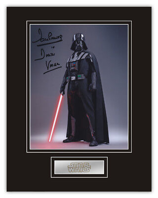 Sale! Star Wars Dave Prowse (Darth Vader) Signed 14x11 Display (DV04)