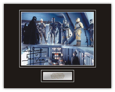 Sale! Star Wars Dave Prowse (Darth Vader) Signed 14x11 Display (DV07)