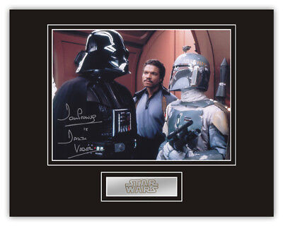 Sale! Star Wars Dave Prowse (Darth Vader) Signed 14x11 Display (DV08)