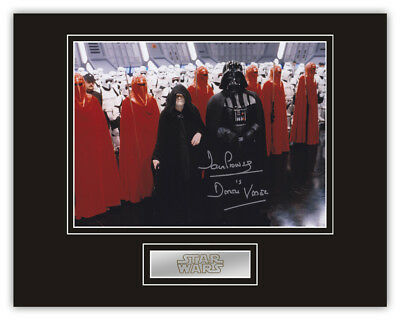 Sale! Star Wars Dave Prowse (Darth Vader) Signed 14x11 Display (DV12)