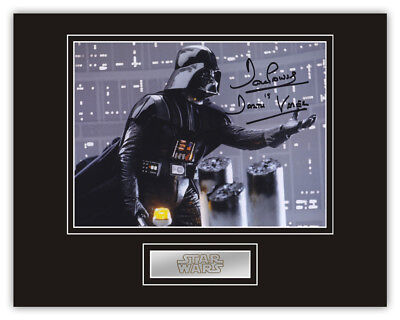 Sale! Star Wars Dave Prowse (Darth Vader) Signed 14x11 Display (DV13)