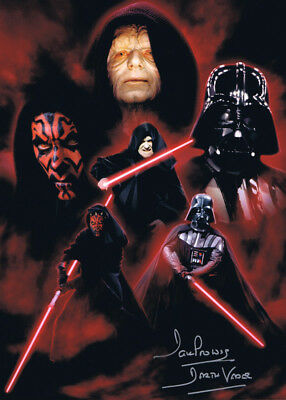 Sale! Star Wars Dave Prowse (Darth Vader) Signed 16x12 Montage Photo 02