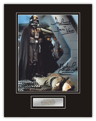 Sale! Star Wars Dave Prowse / Michael Culver (Vader/Needa) Signed 14x11 Display