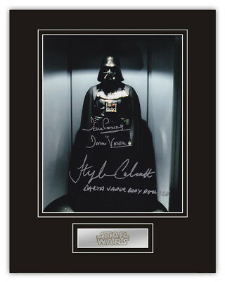 Sale! Star Wars Dave Prowse / Stephen Calcutt Darth Vader Signed 14x11 Display