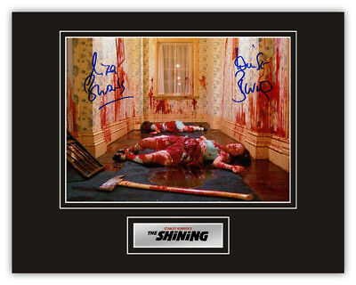 Sale! The Shining Lisa & Louise Burns (The Grady Sisters) Signed 14x11 Display