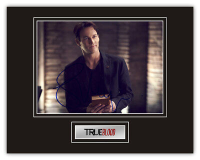 Sale! True Blood Stephen Moyer (Bill Compton) Signed 14x11 Display