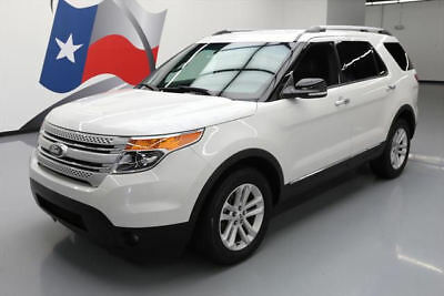 2015 Ford Explorer XLT Sport Utility 4-Door 2015 FORD EXPLORER XLT 7-PASS HTD LEATHER REAR CAM 41K #A13264 Texas Direct Auto