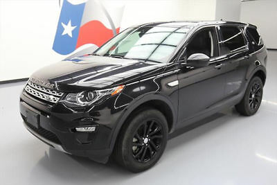 2016 Land Rover Discovery  2016 LAND ROVER DISCOVERY SPORT HSE AWD PANO NAV 25K MI #587449 Texas Direct