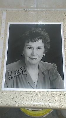 Kim Hunter Planet of the Apes Autographed Photo